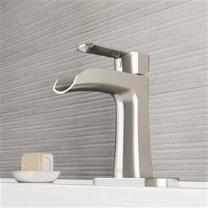 Robinet de salle de bain monotrou et applique «Paloma»