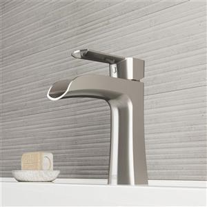Vigo Paloma Single Hole Bathroom Faucet - Brushed Nickel