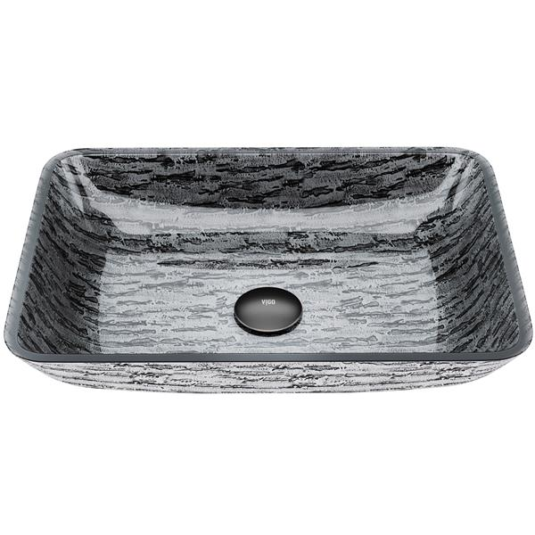VIGO Glass Vessel Bathroom Sink - Multicoloured