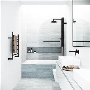 Porte de baignoire «Orion» de Vigo(MD), transparent/noir