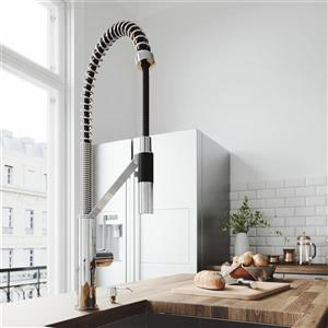 VIGO Livingston Magnetic Kitchen Faucet - Chrome
