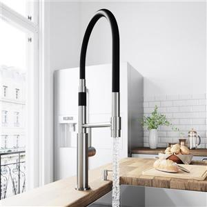 VIGO Norwood Magnetic Spray Kitchen Faucet - Stainless