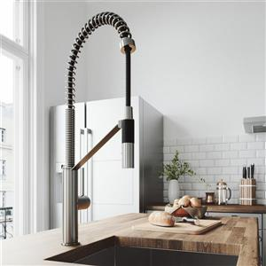Vigo Livingston Magnetic Kitchen Faucet - Stainless Steel