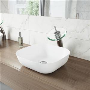 Robinet pour salle de bain «Waterfall», 1 poignée, chrome