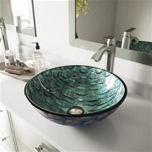 Vasque de salle de bain «Oceania» de Vigo(MD), multicolore