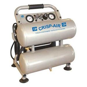 Compresseur Crisp-Air 1,8 HP, 4 gallons, sans huile