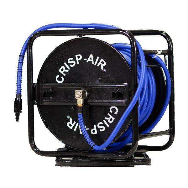 """Crisp-Air Manual Hose Reel - Hose 1/4"""" x 100'"""
