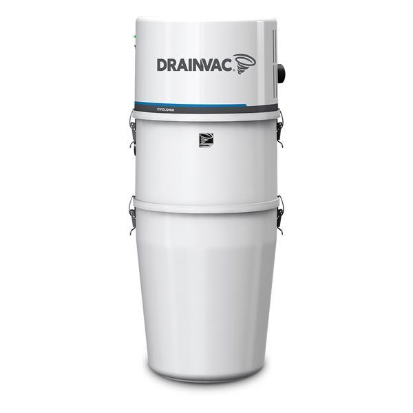 Drainvac Cyclonik Central Vacuum System - 800 AW - 46 L
