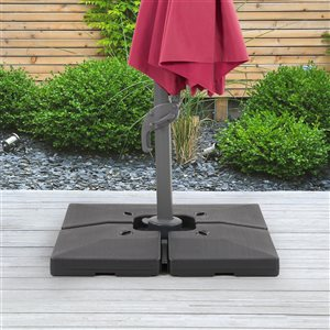 CorLiving Deluxe Patio Base for Heavy and Offset Umbrellas