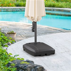 "CorLiving Umbrella Base with Wheels - 24""x31"""