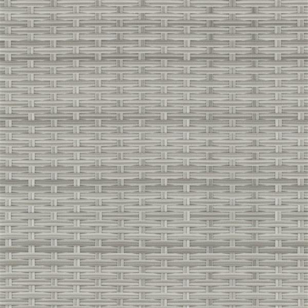 Corner Sectional Patio Set- Blended Grey / Sage Green - 5pc