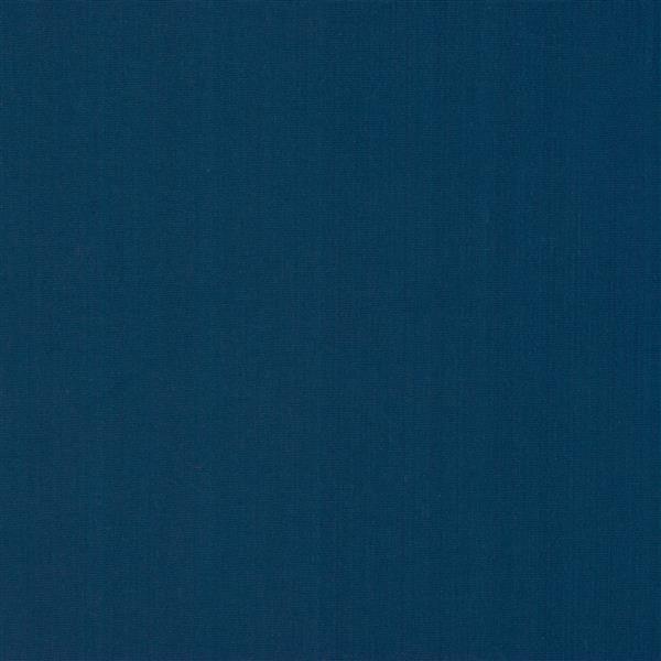 "CorLiving Resin Wicker Patio Ottoman - Grey / Navy Blue - 32"" x 32"""