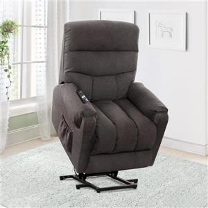 CorLiving Power Lift Assist Recliner, Grey