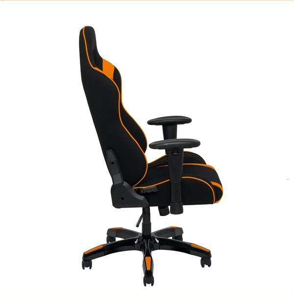 CorLiving High Back Ergonomic Gaming Chair - Black & Orange
