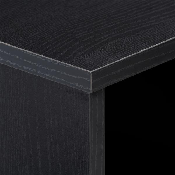 CorLiving Black Entryway Desk with Drawer and Cubby