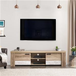 Meuble télé pour les téléviseurs jusqu'à 80