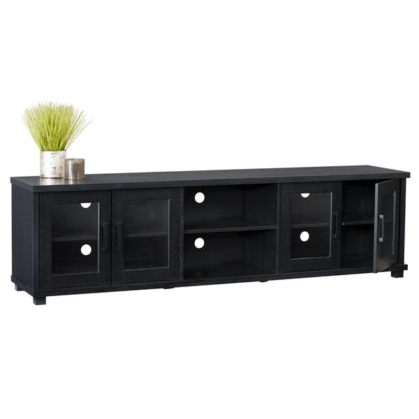 CorLiving TV Stand - Ravenwood Black - TVs up to 90""
