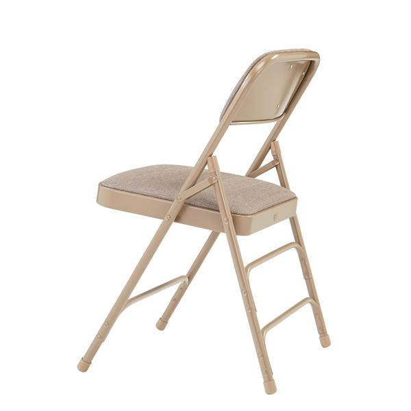 National Public Seating Fabric Padded Folding Chair 2300