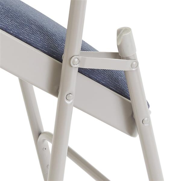 National Public Seating Fabric Padded Folding Chair 2200