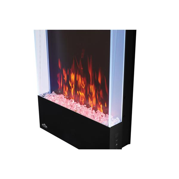 Napoleon Allure Vertical Wall Mount Electric Fireplace - 32-in