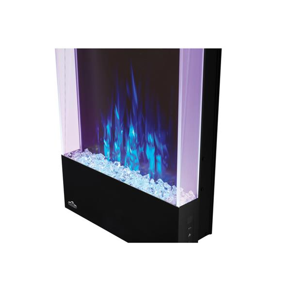 Napoleon Allure Vertical Wall Mount Electric Fireplace - 38-in