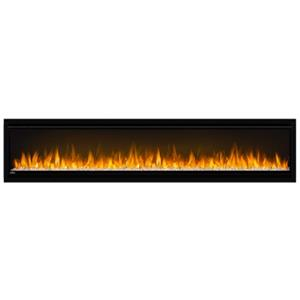 Napoleon Alluravision Slim Wall Electric Fireplace - 74-in