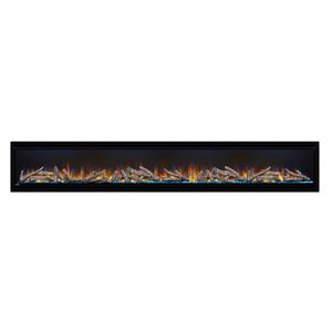 Napoleon Alluravision Deep Wall Electric Fireplace - 100-in
