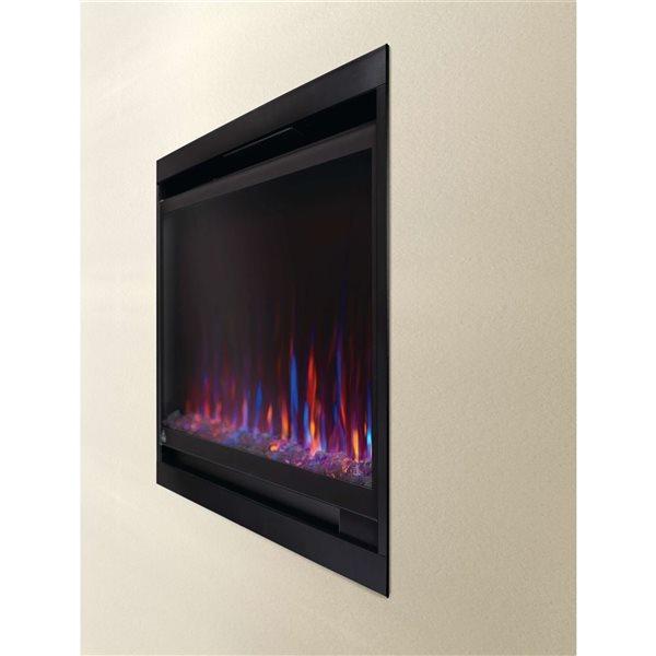 Napoleon Alluravision Slim Wall Electric Fireplace - 50-in