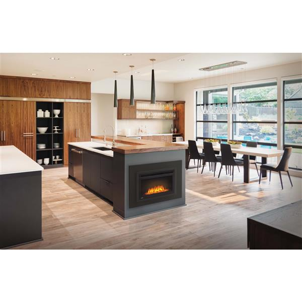 Napoleon Cinema Glass Built In Electric Fireplace - 24-in