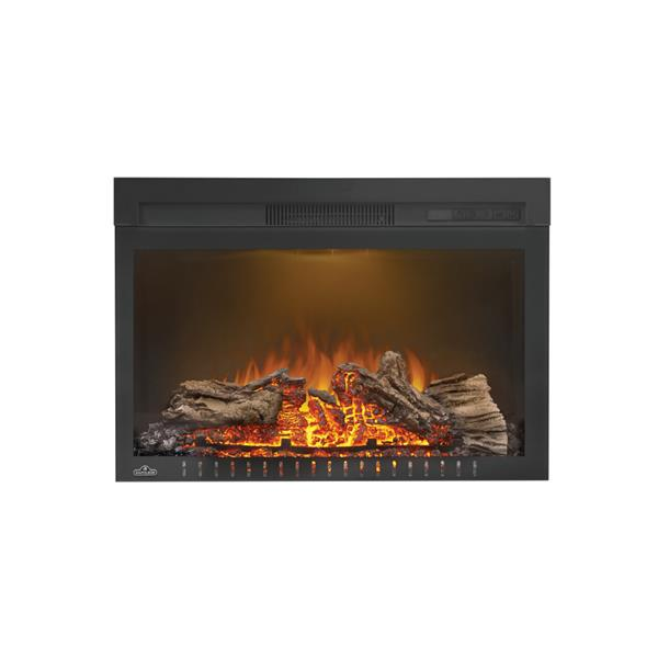 Napoleon CinemaLog Built In Electric Fireplace - 27-in