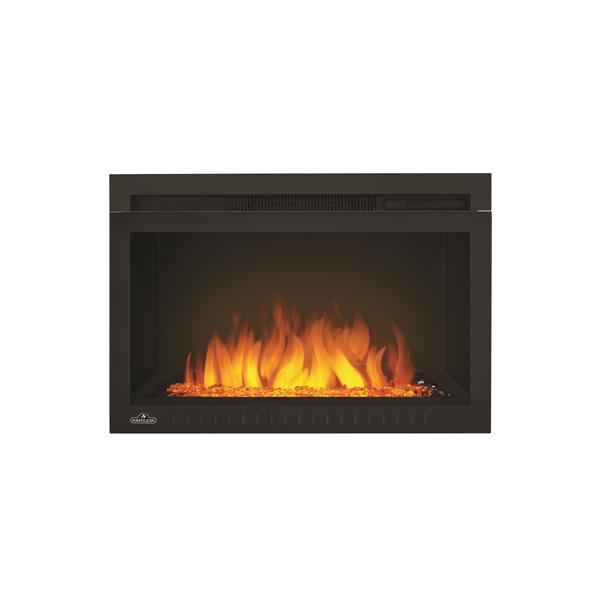 Napoleon Cinema Glass Built In Electric Fireplace - 27-in