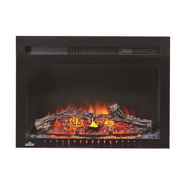 Napoleon Cinema Log Built In Electric Fireplace - 24-in