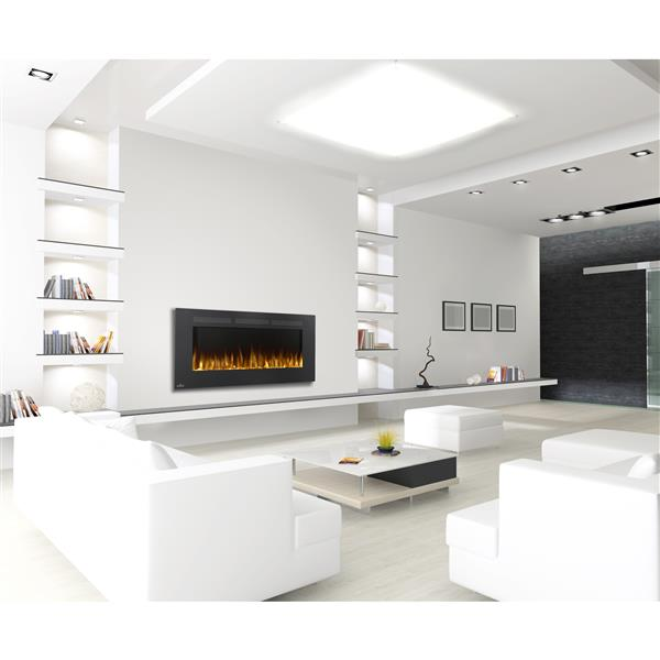 Napoleon Allure Wall Mount Electric Fireplace - 5000BTU - 1500W - 50-in