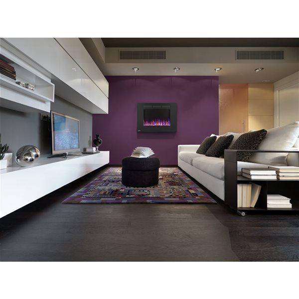 """Foyers électriques muraux Allure, 5000 BTU,1500 W, 32"""""""