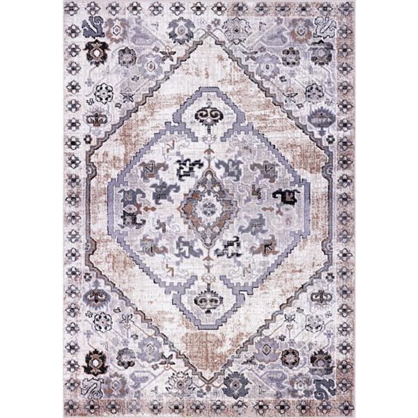 La Dole Rugs®  Chania Traditional Area Rug - 8' x 11' - Beige/Cream