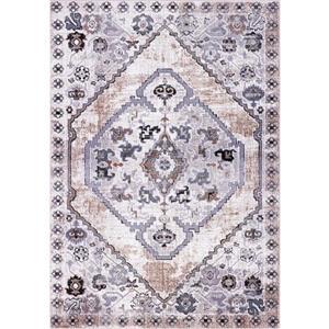 La Dole Rugs®  Chania Traditional Area Rug - 4' x 6' - Beige/Cream