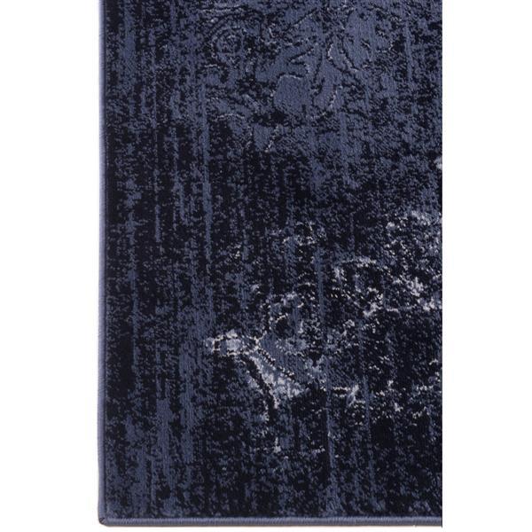 La Dole Rugs®  Anatolia Traditional Area Rug - 5' x 7' - Navy/Ivory