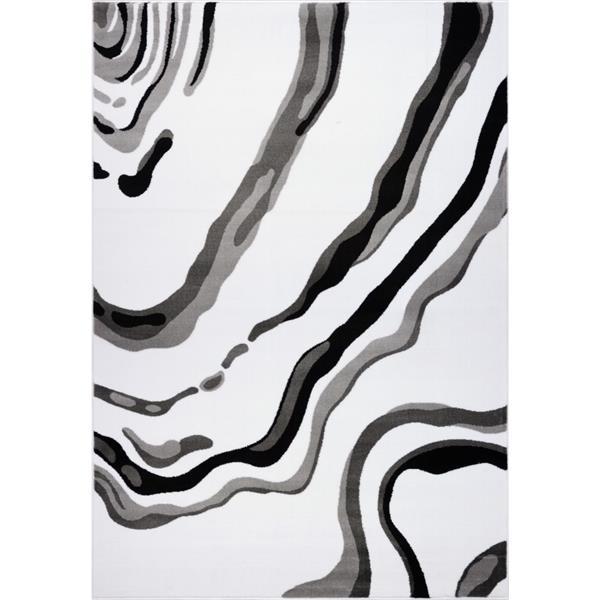 La Dole Rugs Calvin Abstract Modern Area Rug 7 X 10