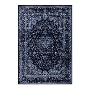 Tapis traditionnel rectangulaire Anatolie, 9' x 12', marine