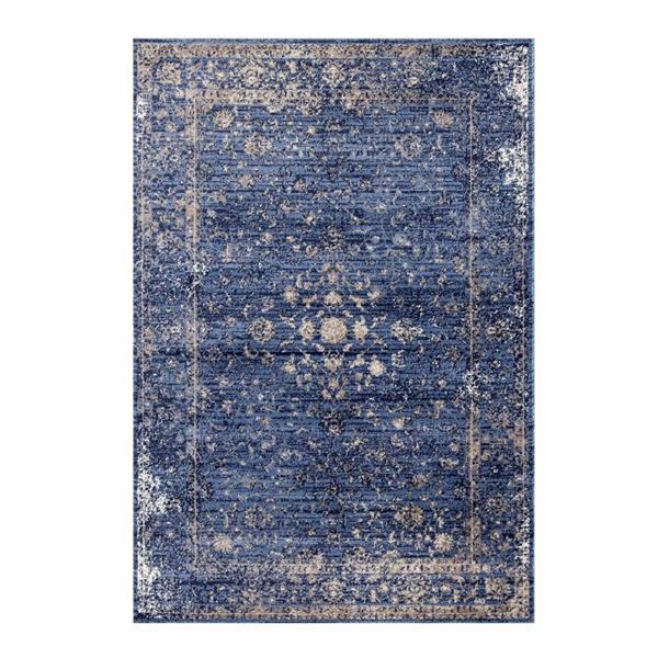 La Dole Rugs®  Anatolia Traditional Area Rug - 5' x 7' - Blue/Beige