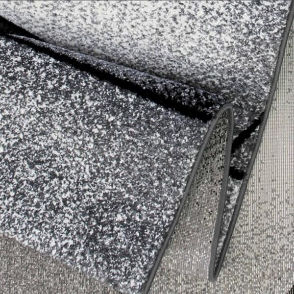 """La Dole Rugs® Geometric Rug - 6' 2"""" x 9' 2"""" - Grey/Black"""