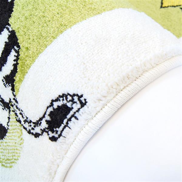 La Dole Rugs®  Kids Moda Modern Animal Area Rug - 7' x 10' - Green