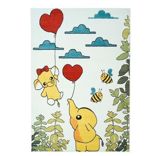 La Dole Rugs® Kids Modern Moda Animal Area Rug - 4' x 6' - Multicolour