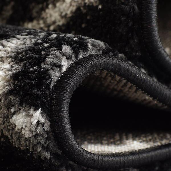 La Dole Rugs® Anise Art Area Rug - 7' x 10' - Black/White