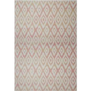 La Dole Rugs®  Bolivya Geometric Modern Area Rug - 8' x 11' - Baby Pink