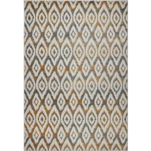 La Dole Rugs®  Bolivya Geometric Modern Area Rug - 8' x 11' - Grey