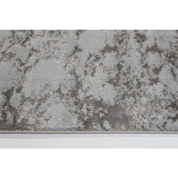 La Dole Rugs® Cherine Modern Area Rug - 5' x 8' - Grey