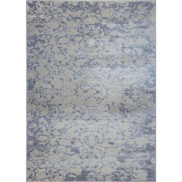 La Dole Rugs®  Concord Abstract Area Rug - 5' x 8' - Caramel/Grey