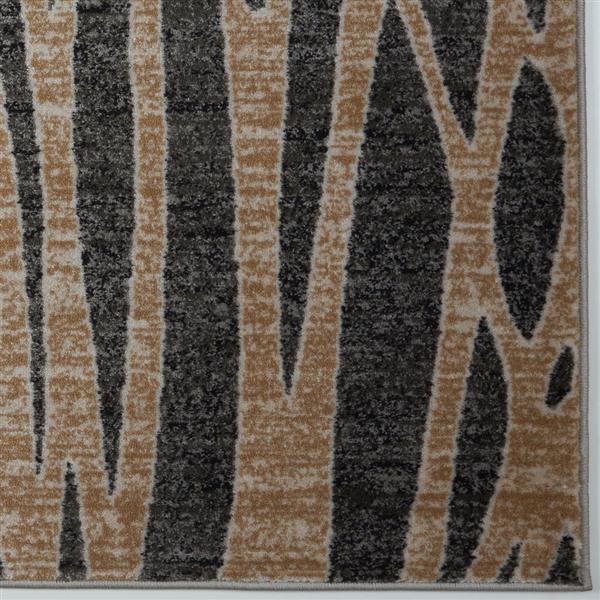 La Dole Rugs® Modern Carpet - 8' x 11' - Dark Grey