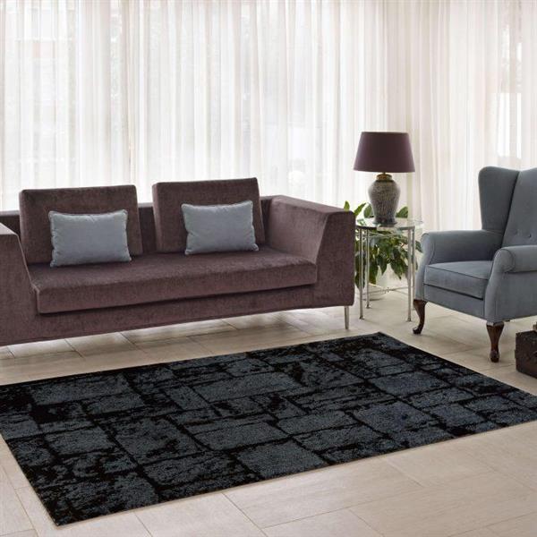 La Dole Rugs®  Contemporary Abstract European Rug - 3' x 10' - Grey